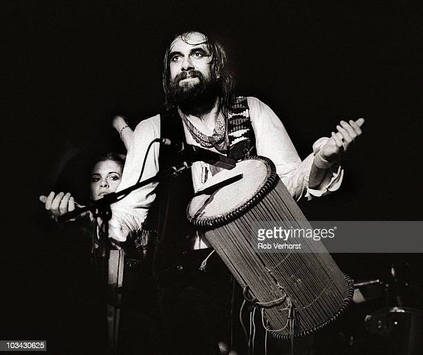 Mick Fleetwood of Fleetwood Mac performs on stage at Ahoy on 13th June 1980 in Rotterdam Netherlands