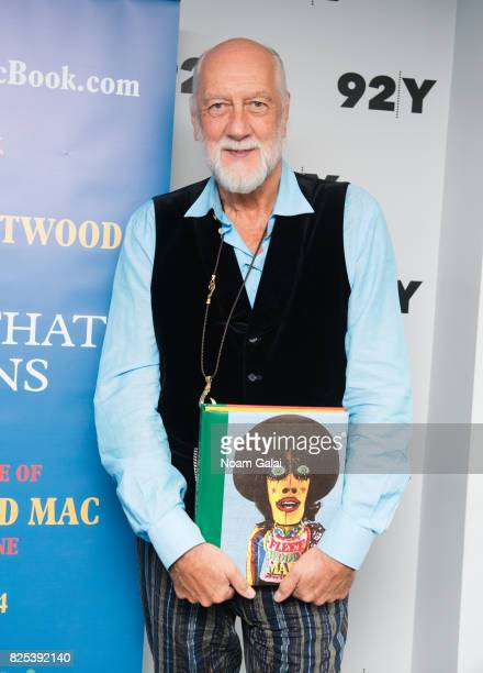 Mick Fleetwood visits 92nd Street Y on August 1 2017 in New York City