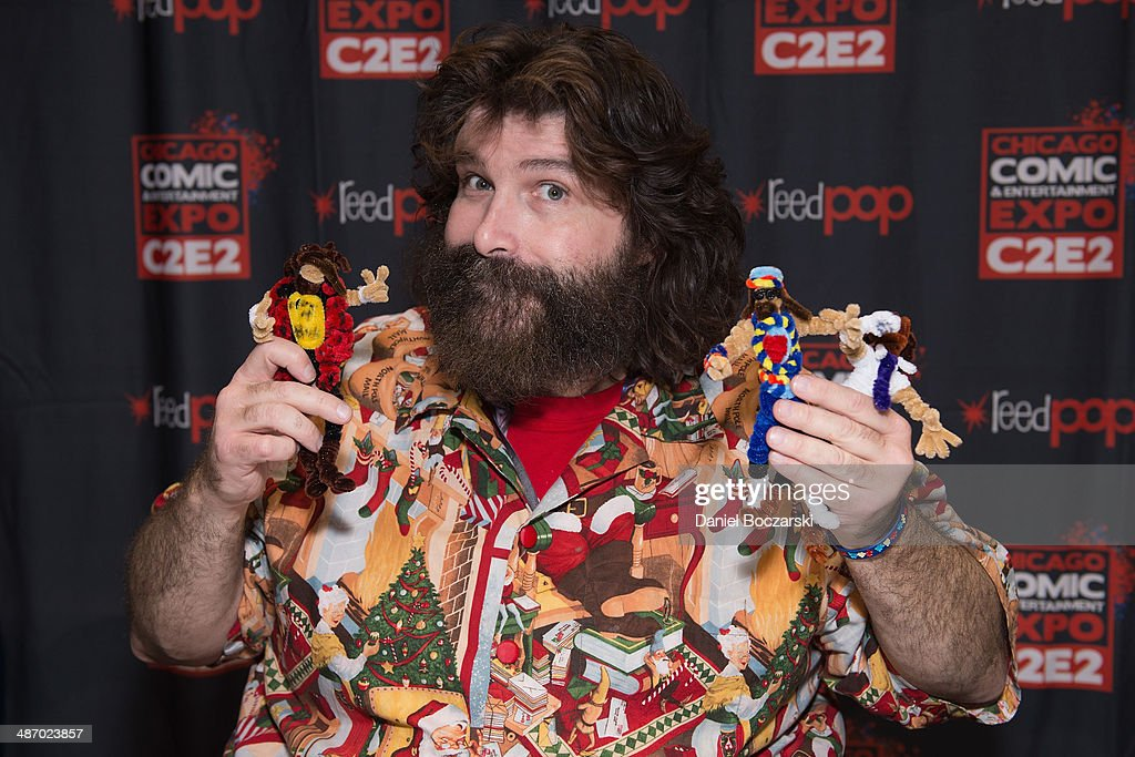 mick foley height