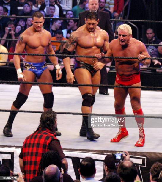 Mick Foley Randy Orton Batista and Ric Flair