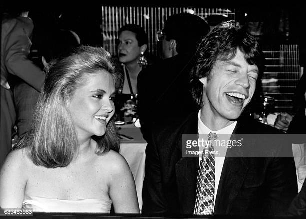 Mick Jagger and Cornelia Guest at Regine's circa 1982 in New York City