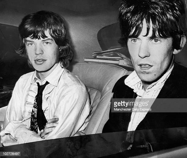 Mick Jagger and Keith Richards Mick Jagger and Keith Richards
