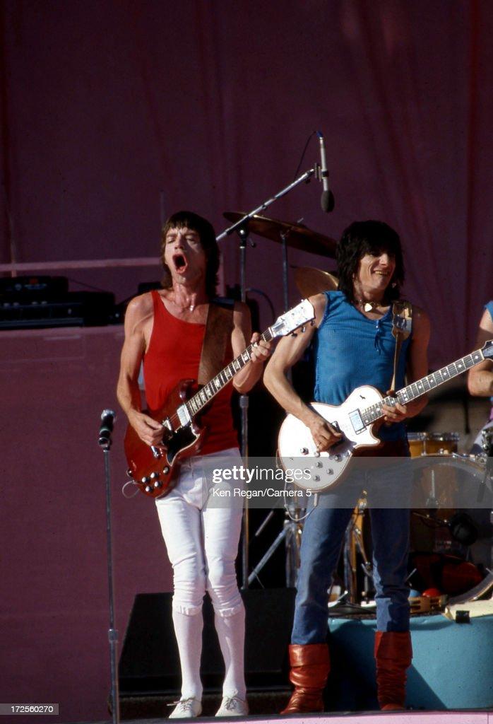 The Rolling Stones, Ken Regan Archive, In Concert 1980's