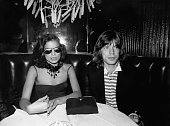 Mick Jagger and wife Bianca Jagger at Copacabana's in New York City 1976
