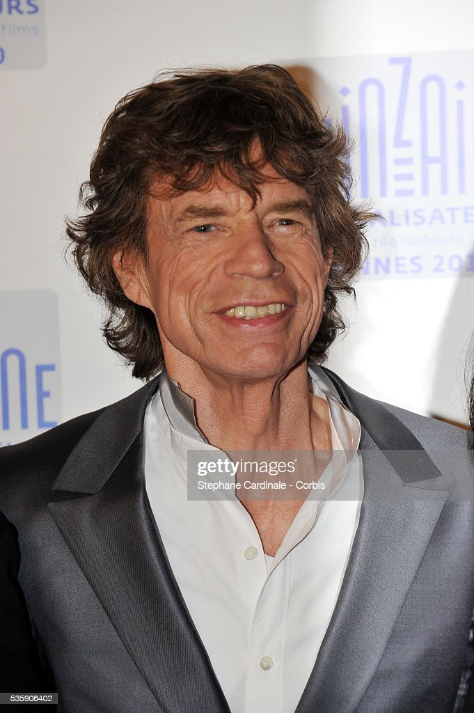 Mick Jagger at the photocall for 'Stones In Exile' during the 63rd Cannes International Film Festival