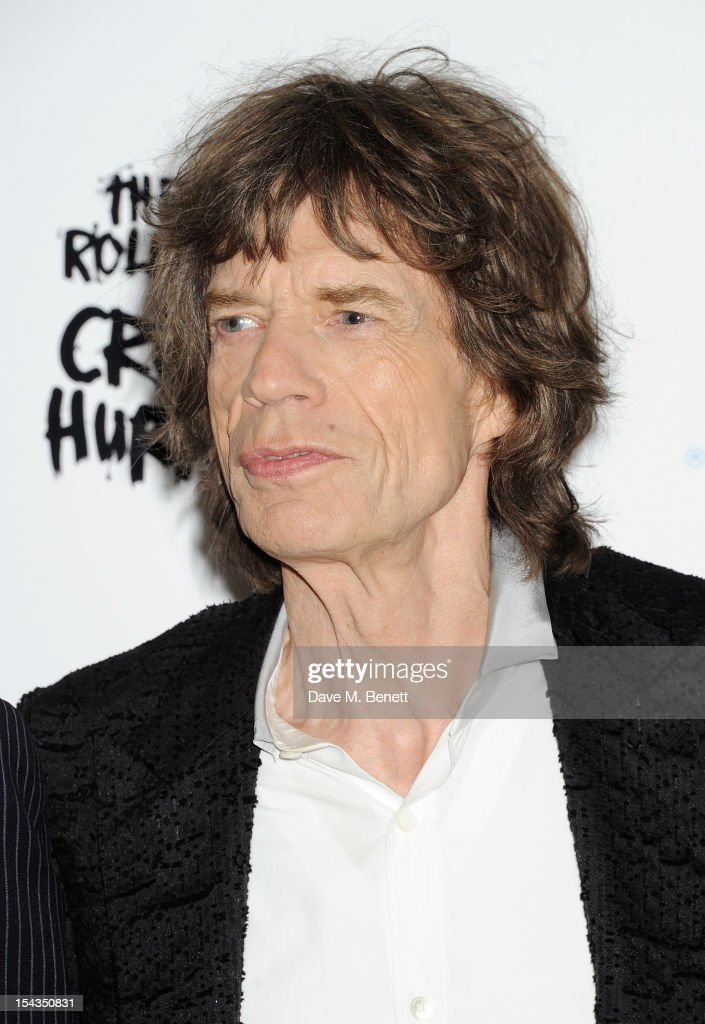 <a gi-track='captionPersonalityLinkClicked' href=/galleries/search?phrase=Mick+Jagger&family=editorial&specificpeople=201786 ng-click='$event.stopPropagation()'>Mick Jagger</a> attends the Gala Premiere of 'Crossfire Hurricane' during the 56th BFI London Film Festival at Odeon Leicester Square on October 18, 2012 in London, England.