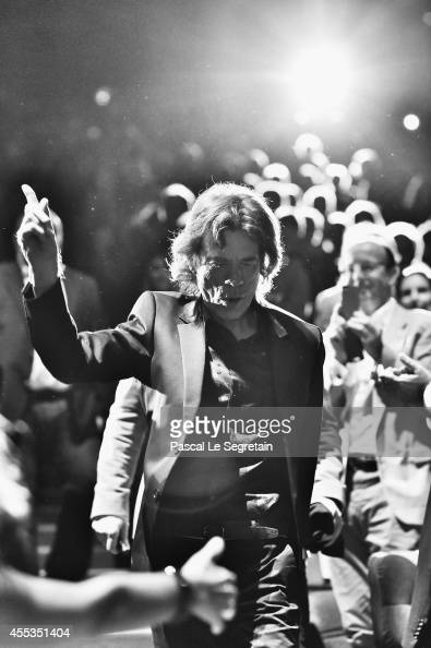 Mick Jagger attends the 'Get On Up' premiere and tribute To Brian Grazer on September 12 2014 in Deauville France
