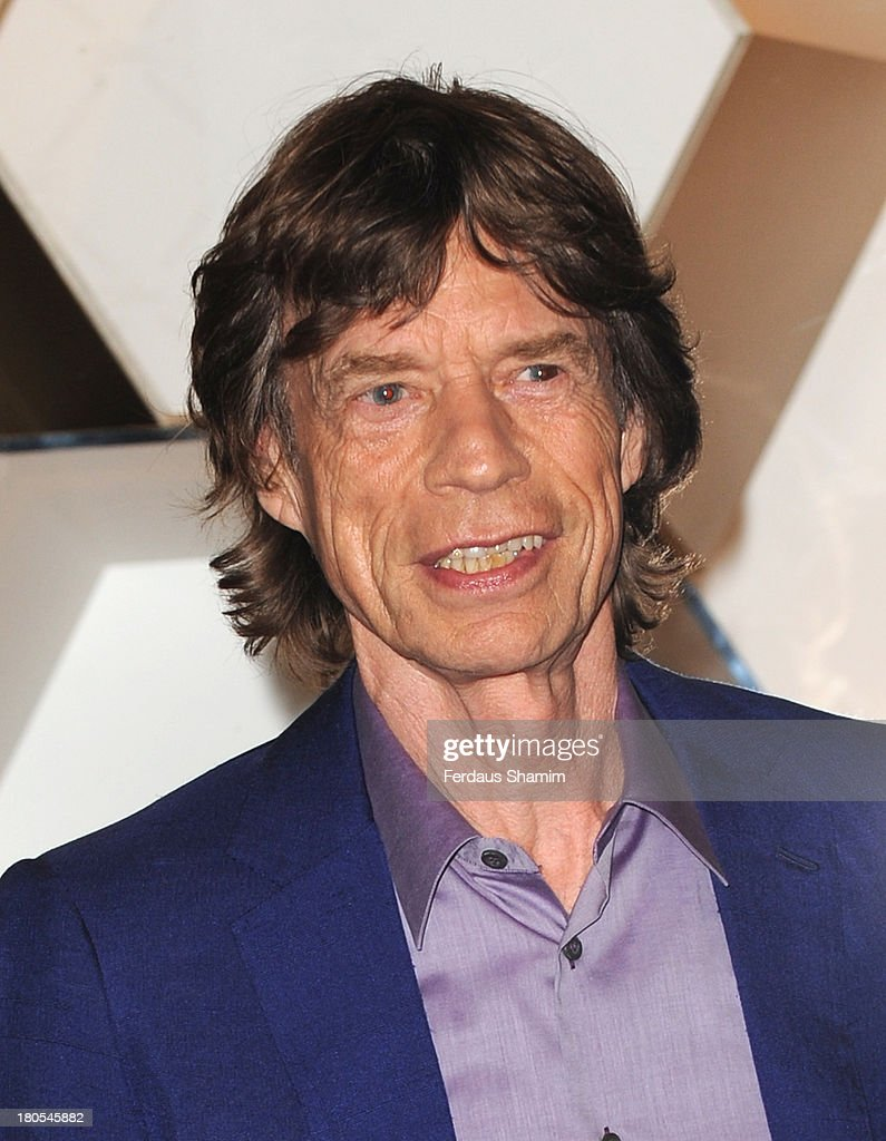 Mick Jagger attends the grand opening party of Longchamp Regent Street on September 14, 2013 in London, England.
