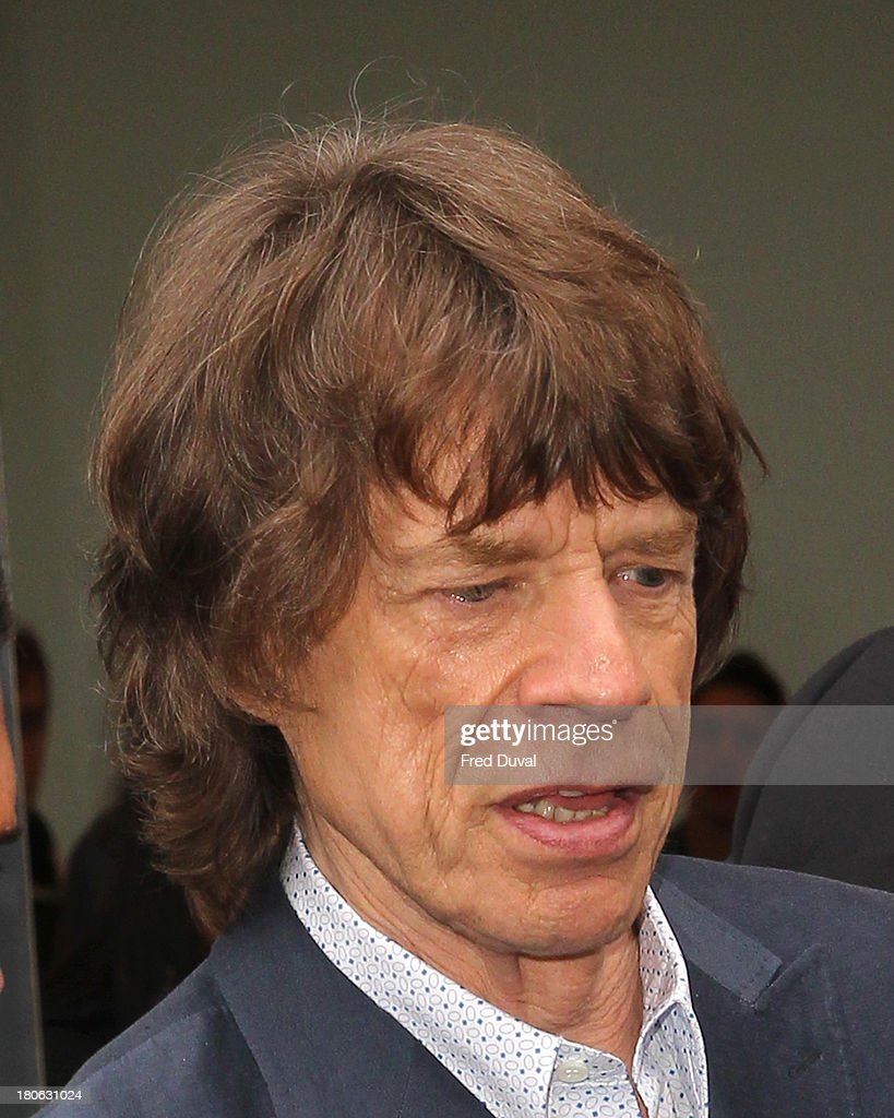 <a gi-track='captionPersonalityLinkClicked' href=/galleries/search?phrase=Mick+Jagger&family=editorial&specificpeople=201786 ng-click='$event.stopPropagation()'>Mick Jagger</a> is sighted during London Fashion Week on September 15, 2013 in London, England.