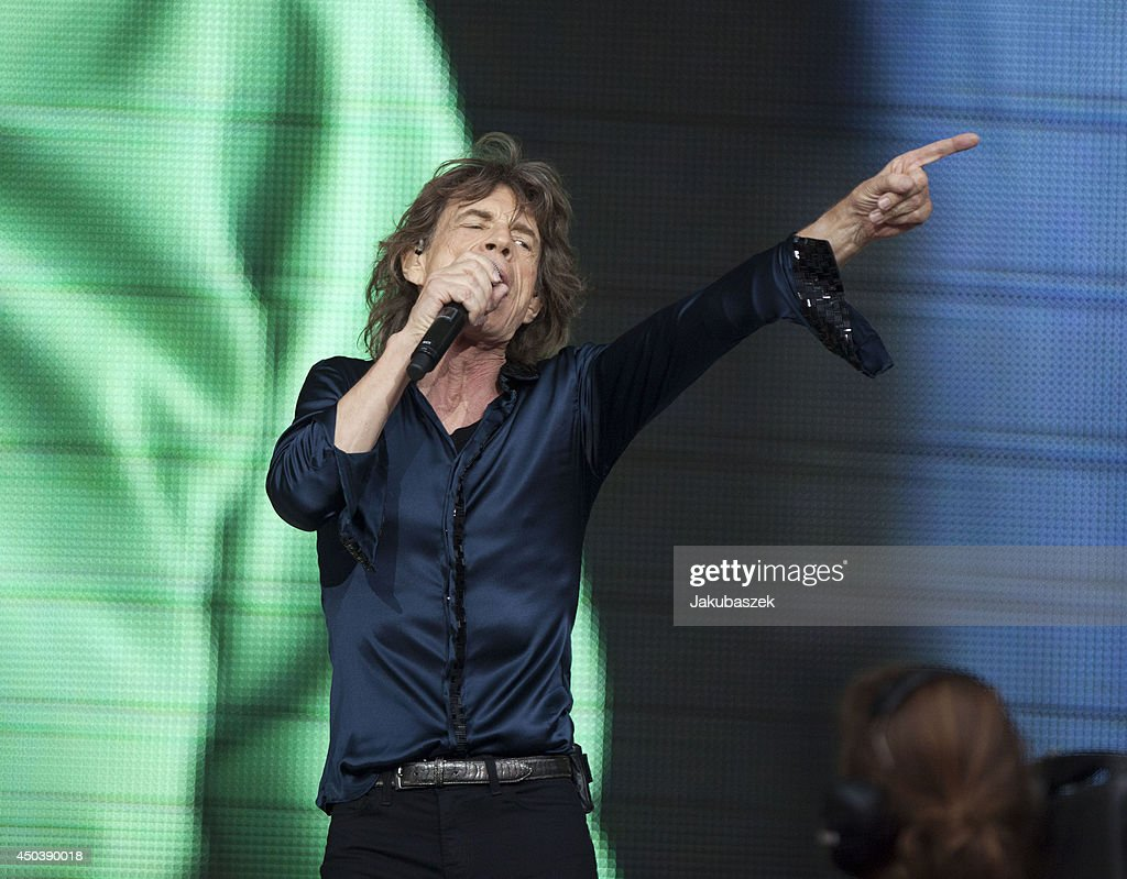 <a gi-track='captionPersonalityLinkClicked' href=/galleries/search?phrase=Mick+Jagger&family=editorial&specificpeople=201786 ng-click='$event.stopPropagation()'>Mick Jagger</a> of the British band The Rolling Stones performs live during a concert at the Waldbuehne on June 10, 2014 in Berlin, Germany.