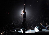 Mick Jagger of The Rolling Stones perform at Prudential Center on December 13 2012 in Newark New Jersey The Rolling Stones concert this Saturday...