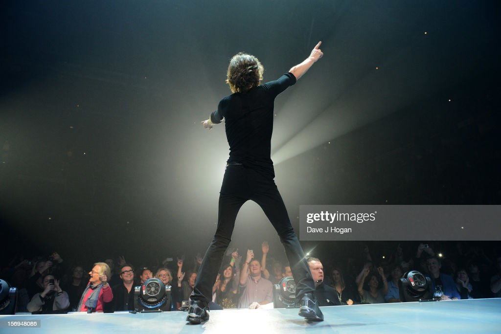 <a gi-track='captionPersonalityLinkClicked' href=/galleries/search?phrase=Mick+Jagger&family=editorial&specificpeople=201786 ng-click='$event.stopPropagation()'>Mick Jagger</a> of the Rolling Stones performs at 02 Arena on November 25, 2012 in London, England.