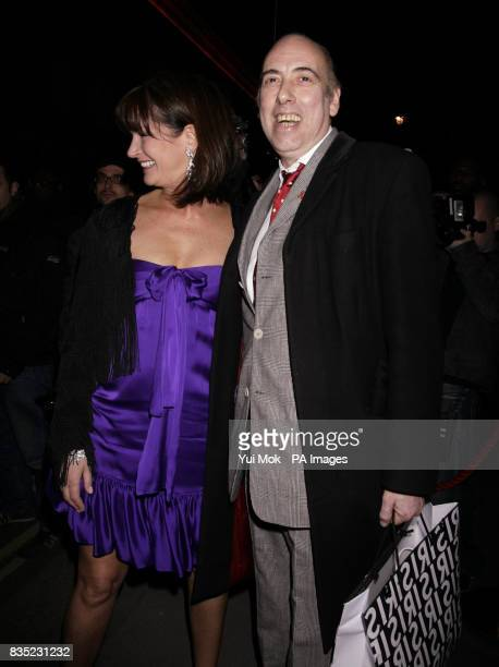 Mick Jones and his wife leaving the Mummy Rocks event to celebrate the role of mothers and to support Great Ormond Street Hospital Children's Charity...