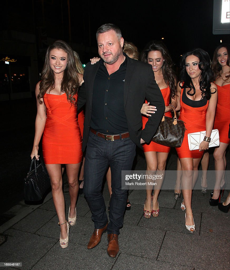 Mick Norcross and The Sugar Hut Honeys at the Sugar Hut Brentwood on April 4, 2013 in London, England.