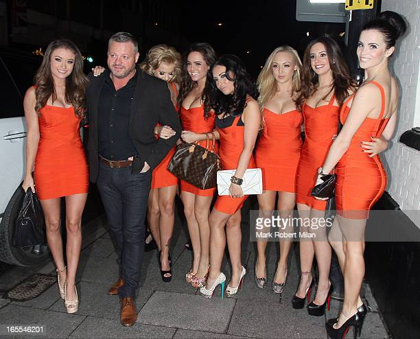 Mick Norcross and The Sugar Hut Honeys at the Sugar Hut Brentwood on April 4 2013 in London England