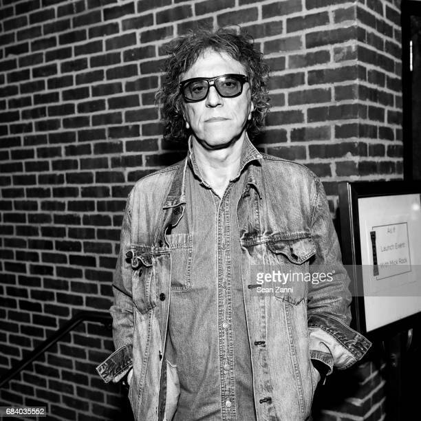 Mick Rock is honored at AS IF Magazine and Tommy Hilfiger celebrates issue 11 at The Roxy Hotel on May 16 2017 in New York City