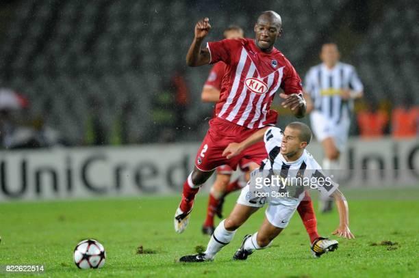 Mickael CIANI / Sebastian GIOVINCO Juventus / Bordeaux Championas League 2009/2010 Stadio Olimpico Turin