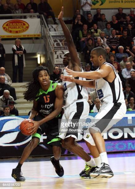 Mickael Gelabale Orleans / ASVEL 20eme journee de ProA Photo Alain Bourdaux/ Icon Sport
