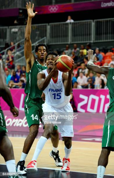 Mickael GELABALE Basket ball France / Nigeria Jeux Olympiques 2012 Londres Photo Dave Winter / Icon Sport