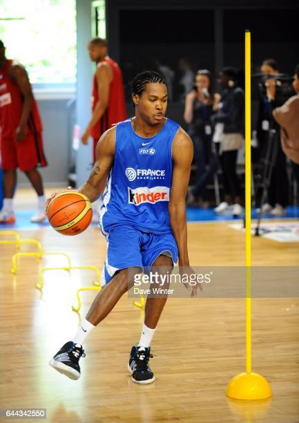 Mickael GELABALE Entrainement France Basket ball Media Day Preparation Olympique INSEP Photo Dave Winter / Icon Sport
