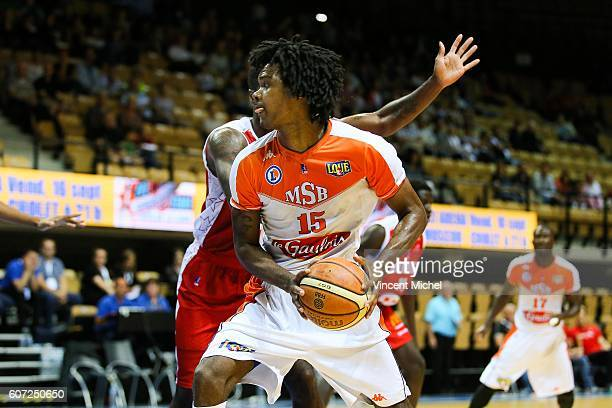 Mickael Gelabale of Le Mans during the match for the 5th and 6th place between Le Mans and Cholet at Tournament ProStars at Salle Arena Loire on...