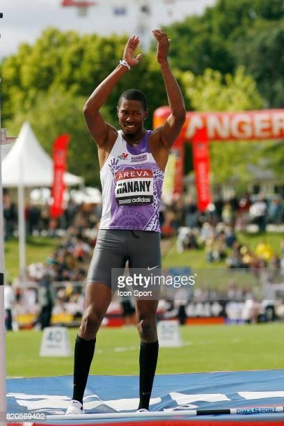 Mickael Hanany Hauteur Championnats de France Athletisme Stade du Lac de Maine Angers