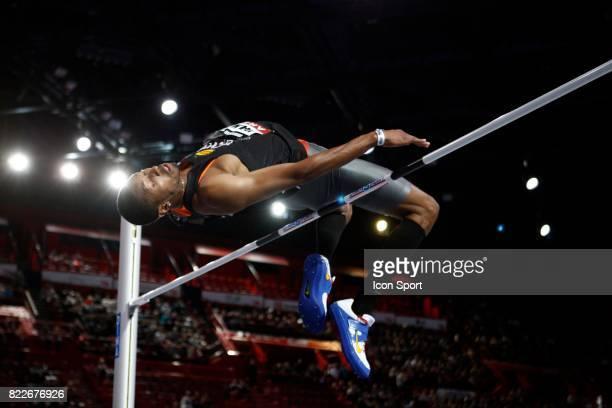 Mickael HANANY hauteur Championnat de France en salle Bercy Paris