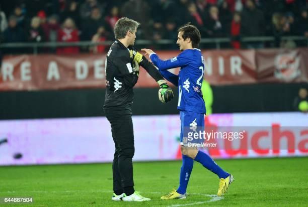 Mickael LANDREAU / Fethi HAREK Valenciennes / Bastia 30e journee de Ligue 1 Photo Dave Winter / Icon Sport