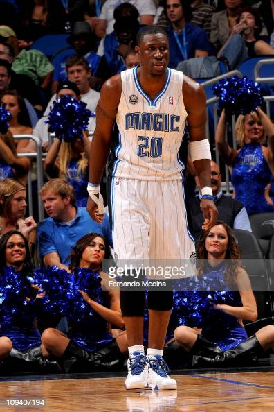 Mickael Pietrus of the Orlando Magic during the game against the Cleveland Cavaliers on November 26 2010 at the Amway Center in Orlando Florida NOTE...