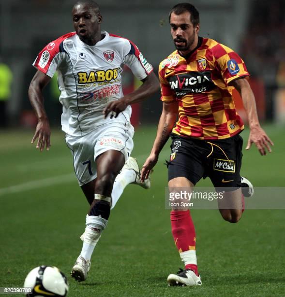 Mickael POTE / Marco RAMOS Lens / Clermont 5eme journee de Ligue 2