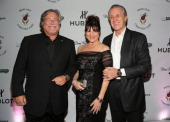 Mickey Arison Madeleine Arison and Pat Riley attend the Miami HEAT Family Foundation night of 'Motown Revue' on February 27 2013 in Miami Florida