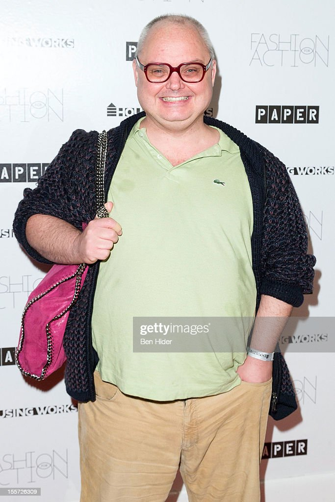 Mickey Boardman attends Fashion for Action 2012 at the Altman Building on November 7, 2012 in New York City.