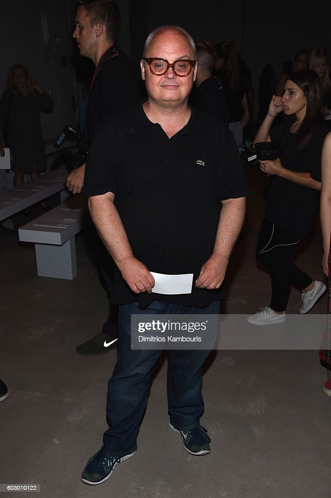 Mickey Boardman attends the Prabal Gurung fashion show during New York Fashion Week: The Shows September 2016 at The Gallery, Skylight at Clarkson Sq on September 11, 2016 in New York City.