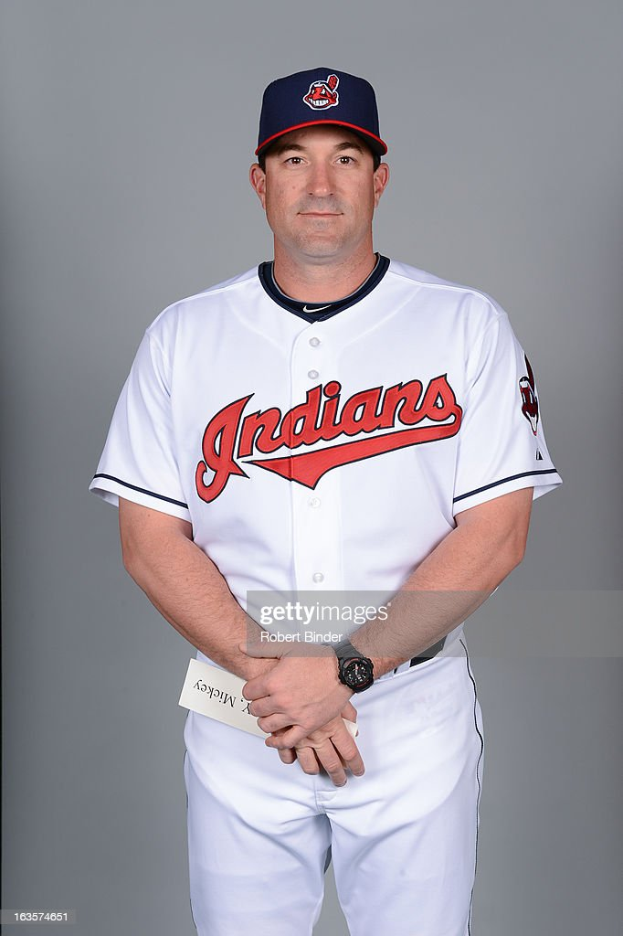 <a gi-track='captionPersonalityLinkClicked' href=/galleries/search?phrase=Mickey+Callaway&family=editorial&specificpeople=3002338 ng-click='$event.stopPropagation()'>Mickey Callaway</a> #44 of the Cleveland Indians poses during Photo Day on February 19, 2013 at Goodyear Ballpark in Goodyear, Arizona.
