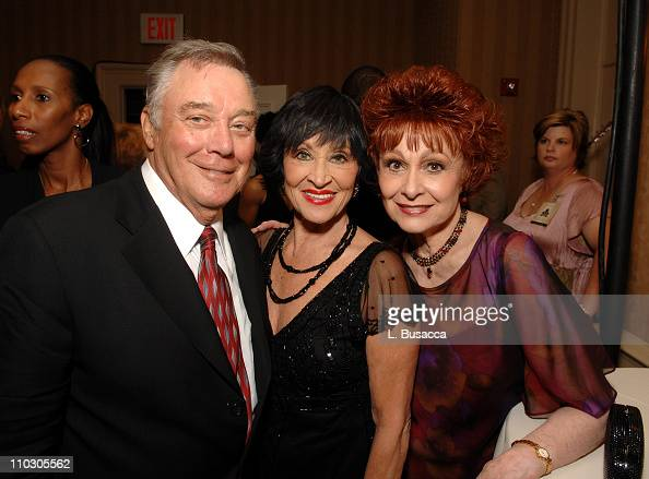 Mickey Callen Chita Rivera and Carol Lawrence pose during the Recording Academy New York Chapter's Tribute to Bon Jovi Alicia Keys Donnie McClurkin...