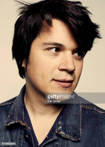 Mickey Keating from 'Psychopaths' poses at the 2017 Tribeca Film Festival portrait studio on April 20 2017 in New York City