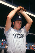 Mickey Lolich of the Detroit Tigers poses for a portrait Lolich played for Detroit from 19631975