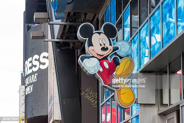 Mickey Mouse at the entrance of Walt Disney store in Times Square The Walt Disney Company commonly known as Disney is an American diversified...