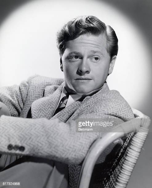 Mickey Rooney passes another milestone as the screen's beloved Andy Hardy when he becomes a college freshman in 'Andy Hardy's Blonde Trouble' the...