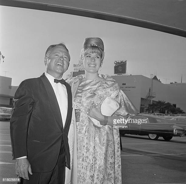 Mickey Rooney with Wife Carolyn Mitchell