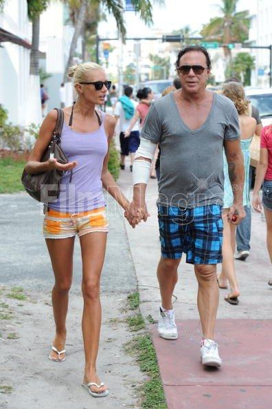 Mickey Rourke And Anastassija Makarenko His Russian Girlfriend Are Filmmagic 98364082 See more of anastassija makarenko on facebook. 2