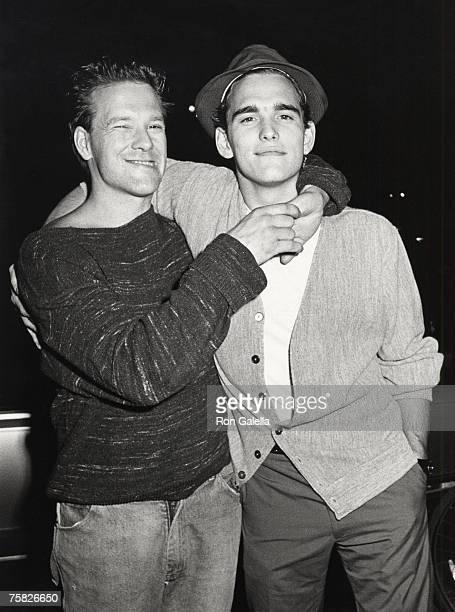 Mickey Rourke and Matt Dillon