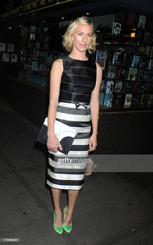 Mickey Sumner as seen on July 15, 2013 in New York City.