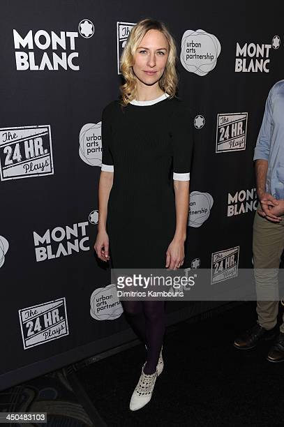 Mickey Sumner attends Montblanc Presents The 13th Annual 24 Hour Plays On Broadway After Party at BB King Blues Club Grill on November 18 2013 in New...