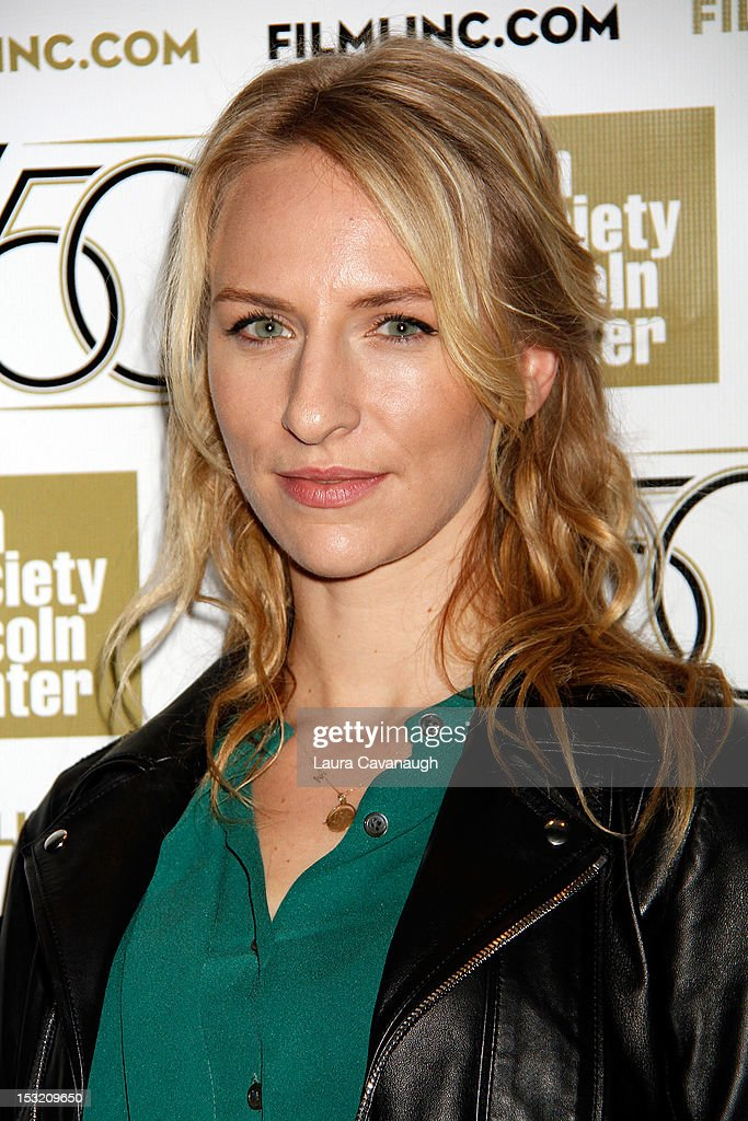 Mickey Sumner attends the 50th annual New York Film Festival Live Talks at the Elinor Bunin Munroe Film Center on October 1, 2012 in New York City.