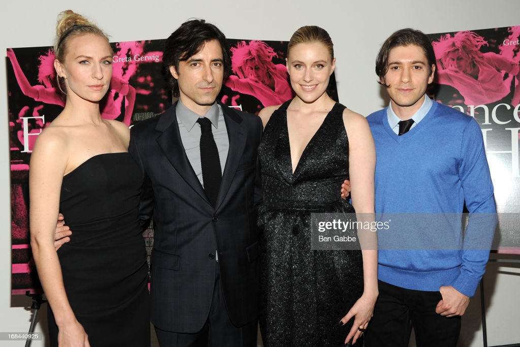 Mickey Sumner, <a gi-track='captionPersonalityLinkClicked' href=/galleries/search?phrase=Noah+Baumbach&family=editorial&specificpeople=841432 ng-click='$event.stopPropagation()'>Noah Baumbach</a>, <a gi-track='captionPersonalityLinkClicked' href=/galleries/search?phrase=Greta+Gerwig&family=editorial&specificpeople=4249808 ng-click='$event.stopPropagation()'>Greta Gerwig</a> and Michael Zegan attend 'Frances Ha' New York Premiere at MOMA on May 9, 2013 in New York City.