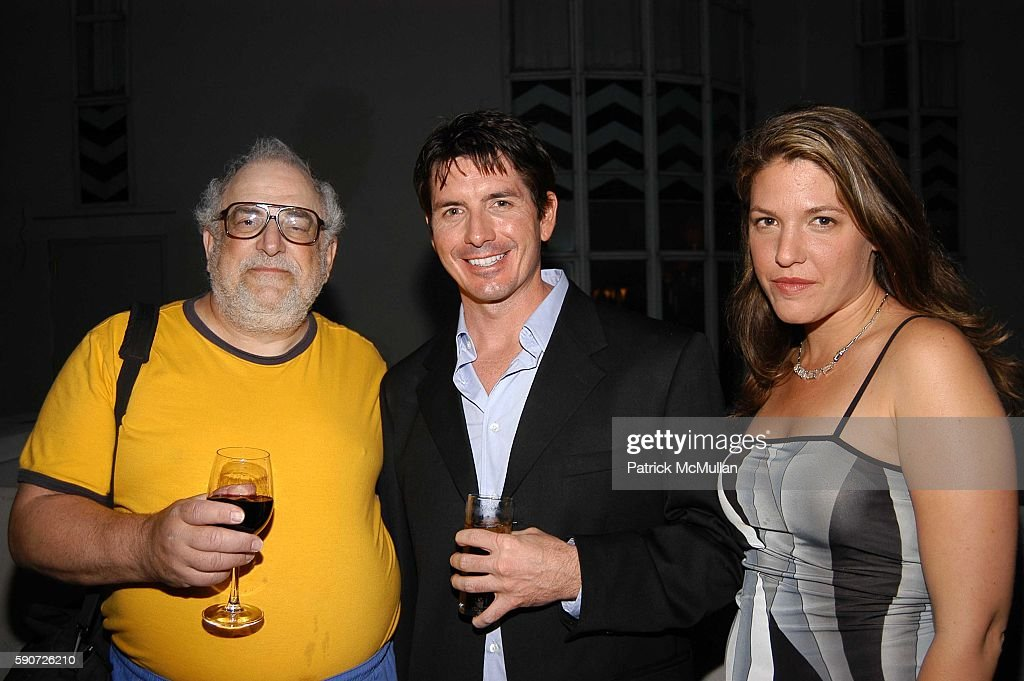 Micki Schloss Ryan Keyes and Eve Schwartz attend 'Cocktails on Sunset' SAG Foundation Benefit Party at Argyle Hotel on July 16 2005 in Los Angeles CA