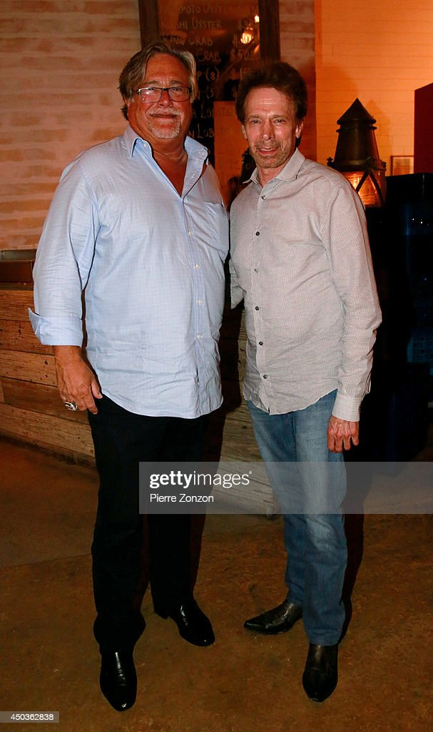 <a gi-track='captionPersonalityLinkClicked' href=/galleries/search?phrase=Micky+Arison&family=editorial&specificpeople=544851 ng-click='$event.stopPropagation()'>Micky Arison</a> and <a gi-track='captionPersonalityLinkClicked' href=/galleries/search?phrase=Jerry+Bruckheimer&family=editorial&specificpeople=203316 ng-click='$event.stopPropagation()'>Jerry Bruckheimer</a> are seen at Seasalt and Pepper Restaurant on May 25, 2014 in Miami, Florida.