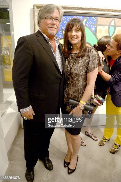 Micky Arison and Madeleine Arison attend Britto Central Gallery's 20th Anniversary Celebration on December 11 2013 in Miami Florida