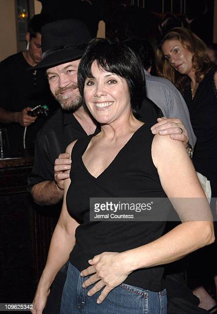 Micky Dolenz and Joyce DeWitt during 14th Annual 'ROCKERS ON BROADWAY' Fundraising Benefit Concert at The Cutting Room in New York City New York...